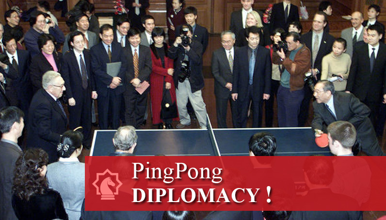 From Ping Pong Diplomacy To The Beijing Games Editors