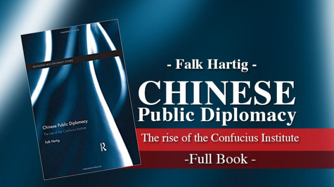 Chinese Public Diplomacy: The Rise of the Confucius